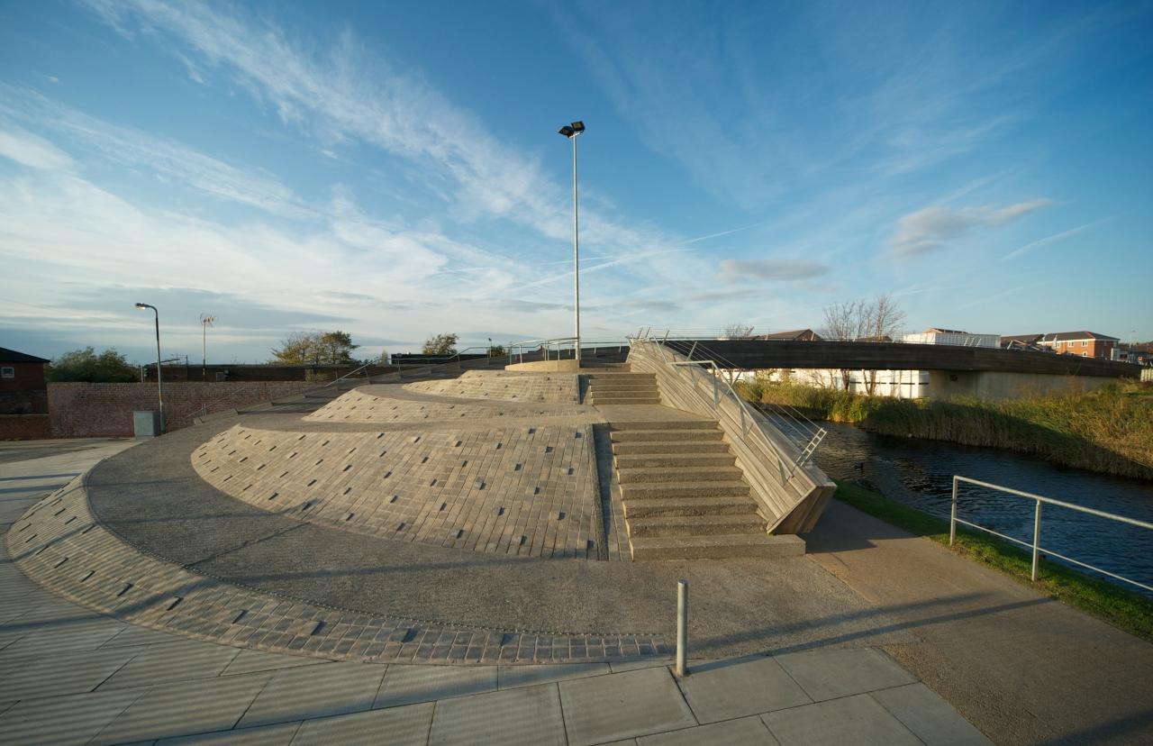 Pennington Road Footbridge / Softroom, © Joseph Burns