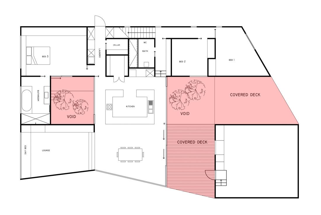 Gallery Of Allens Rivulet House Room11 17