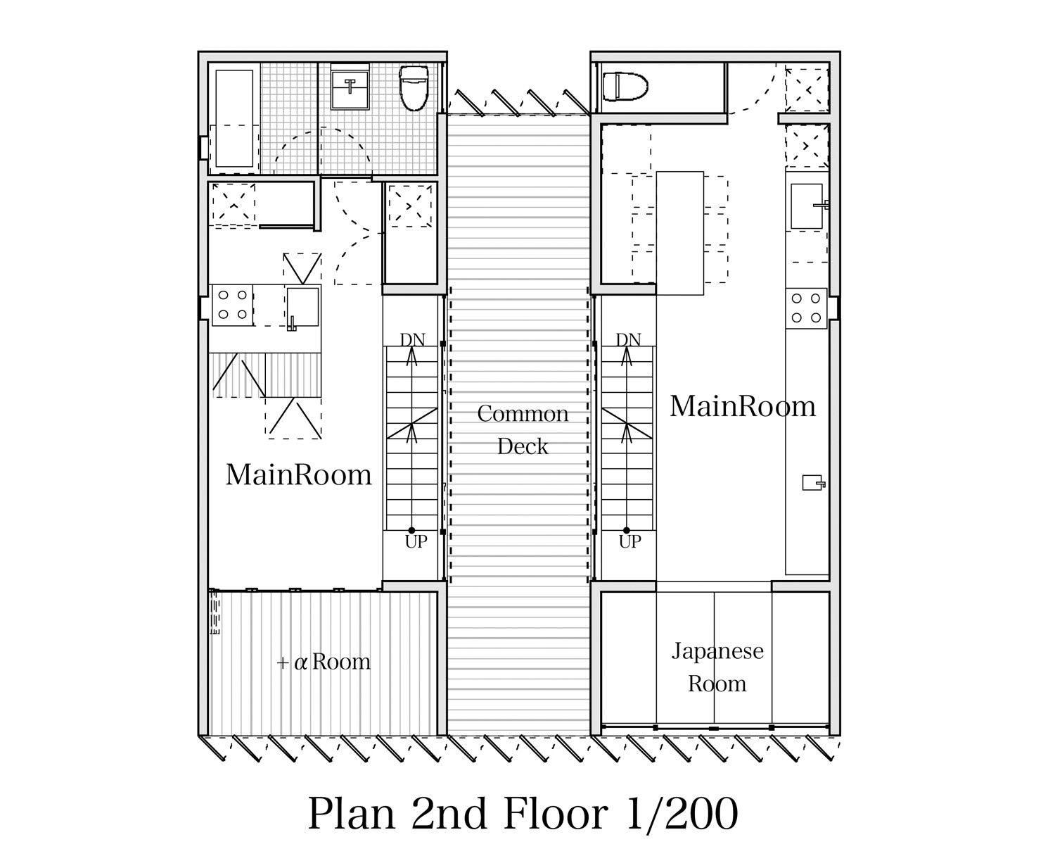 Gallery of ttn house miyahara architect office 19 for Office floor plan app