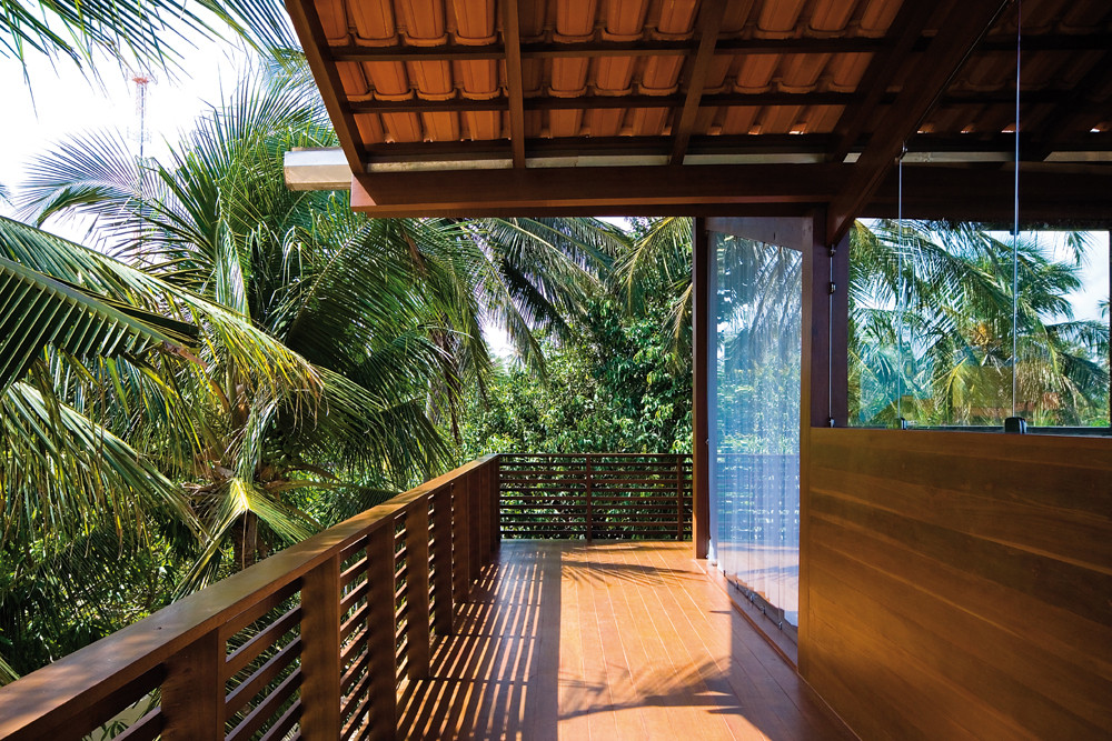 Gallery of tropical house camarim arquitectos 5 for Tropical architecture house design