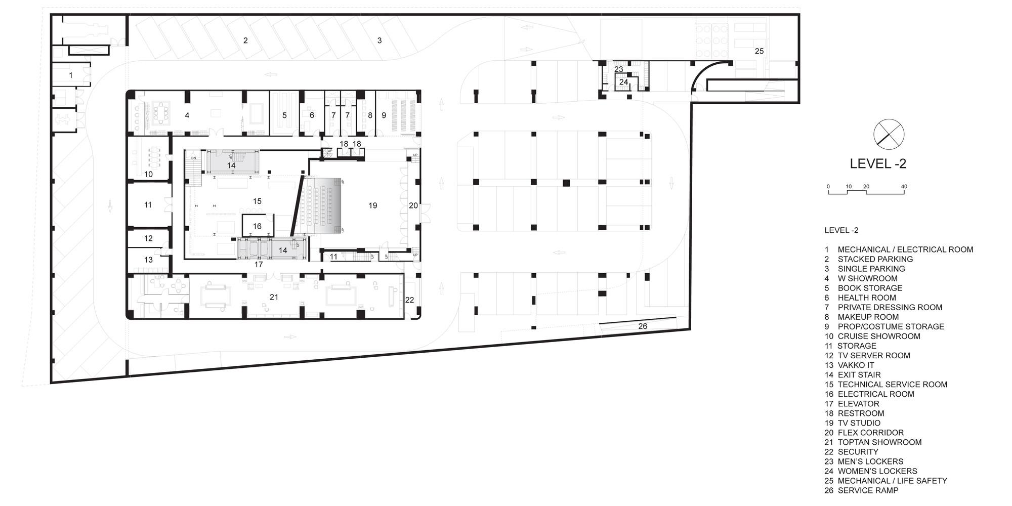 Gallery of vakko headquarters and power media center rex for Media center plans