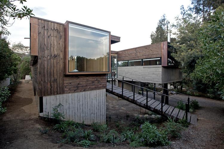 Los Molles House / Oltmann Ahlers W. + Oltmann Ahlers G. + dRN Arquitectos, © Nico Saieh