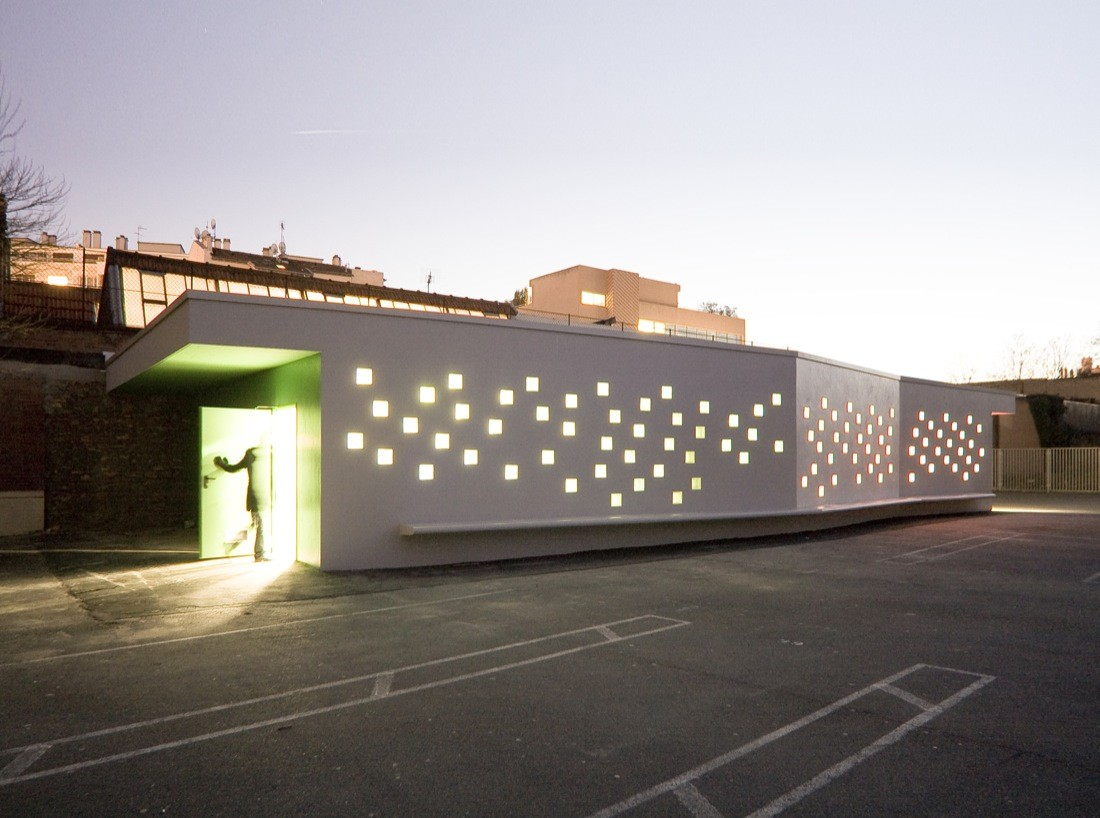 Diderot d'Alembert School Infirmary / Chartier/Dalix Architectes, © Mathieu Janand