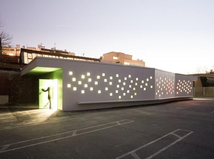 Diderot d'Alembert School Infirmary / Chartier Dalix Architectes, © Mathieu Janand