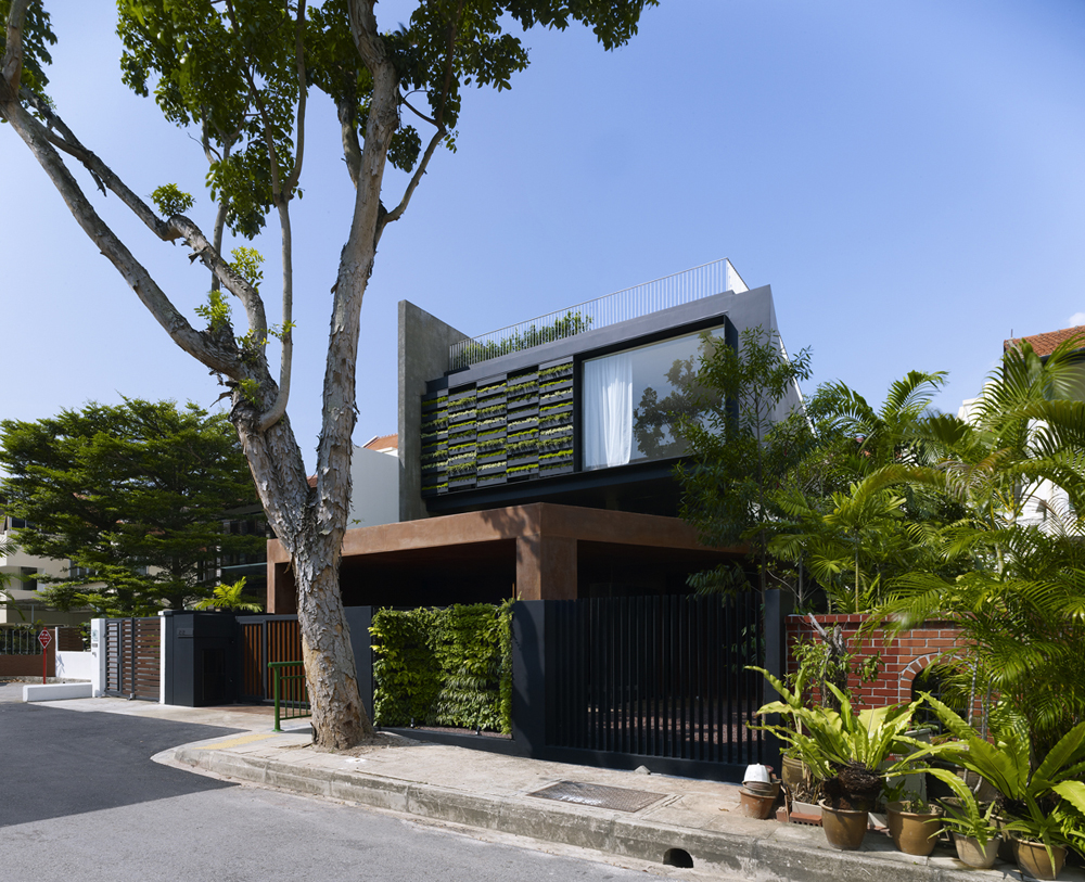 Maximum Garden House Formwerkz Architects Archdaily
