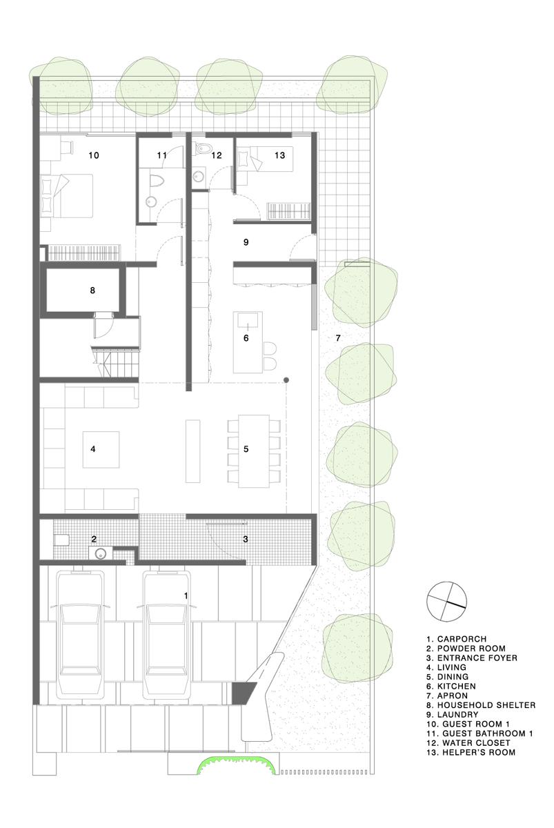 Gallery of Maximum Garden House Formwerkz Architects 16