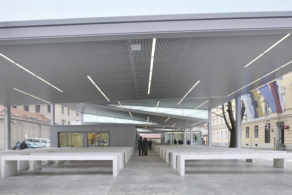 New Market in Celje / Arhitektura Krušec, © Miran Kambič