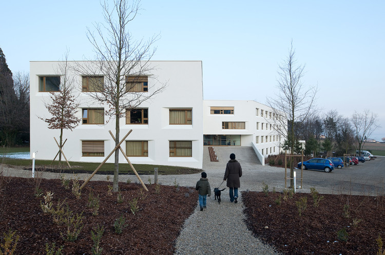 Elderly Care House / Geninasca Delefortrie Architectes, © Thomas Jantscher