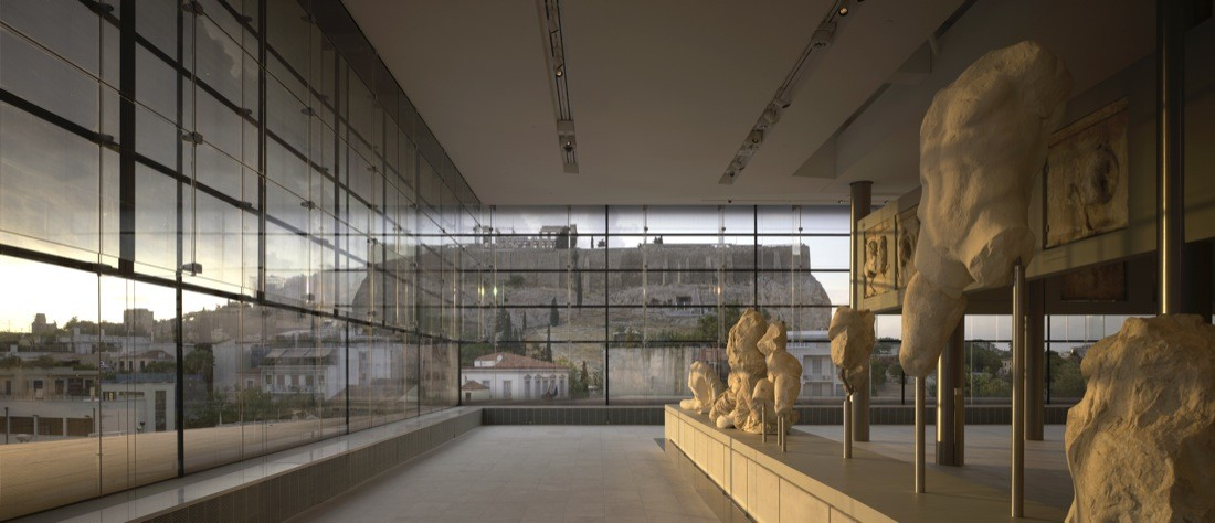 New Acropolis Museum Cafe
