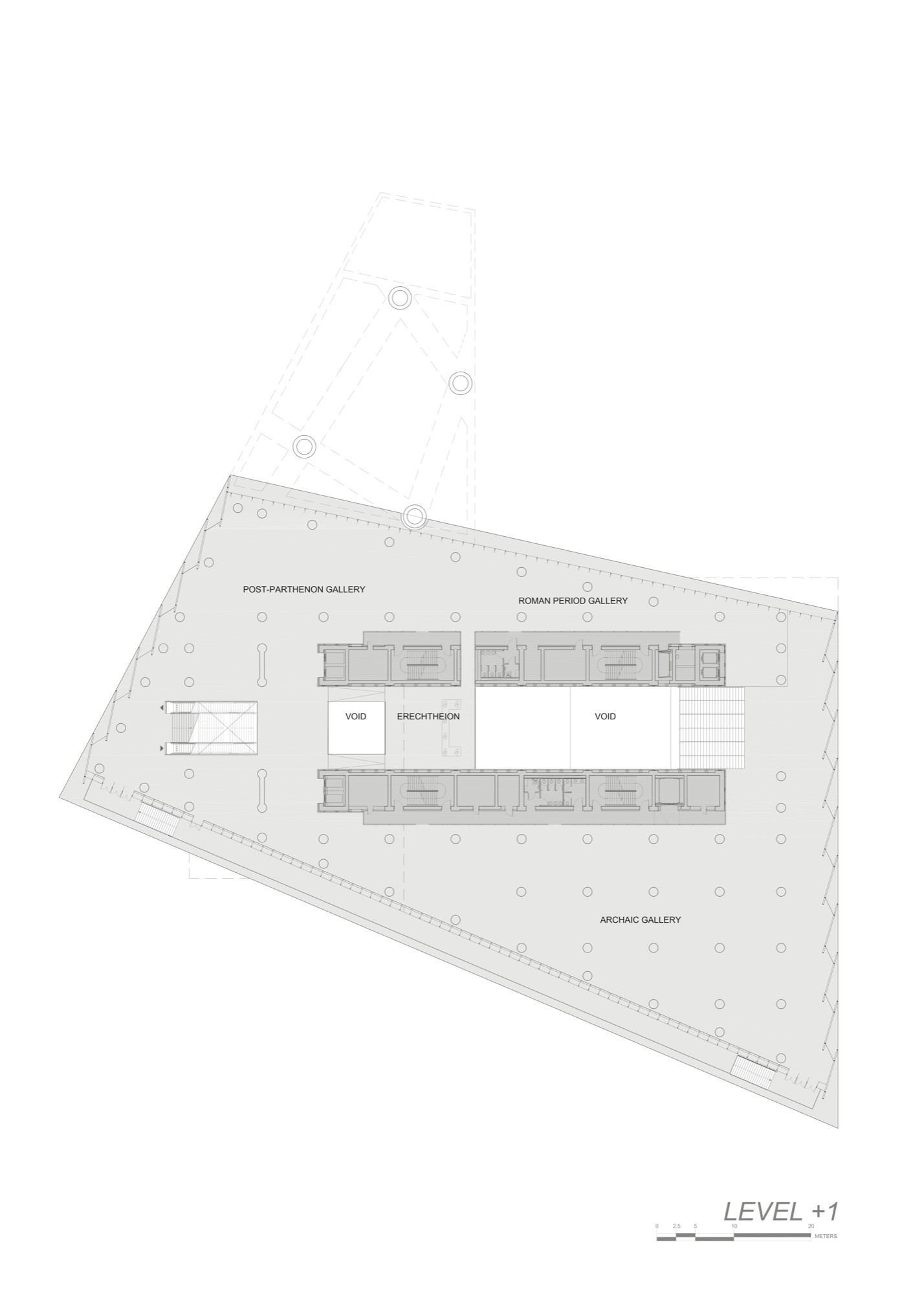 Gallery Of New Acropolis Museum Bernard Tschumi