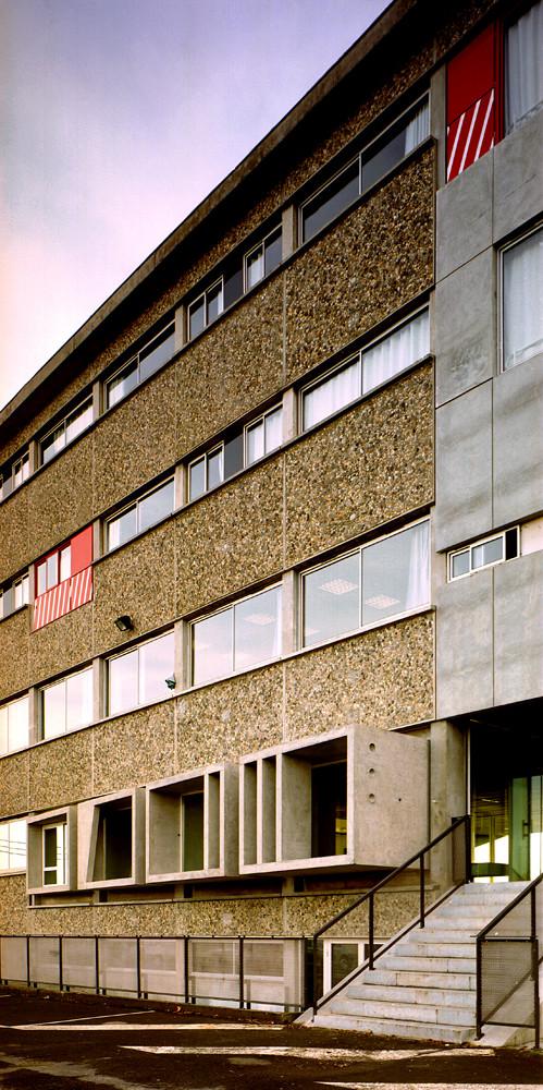 Lycée de Bagatelle / Laurens & Loustau Architectes, © Damien Aspe