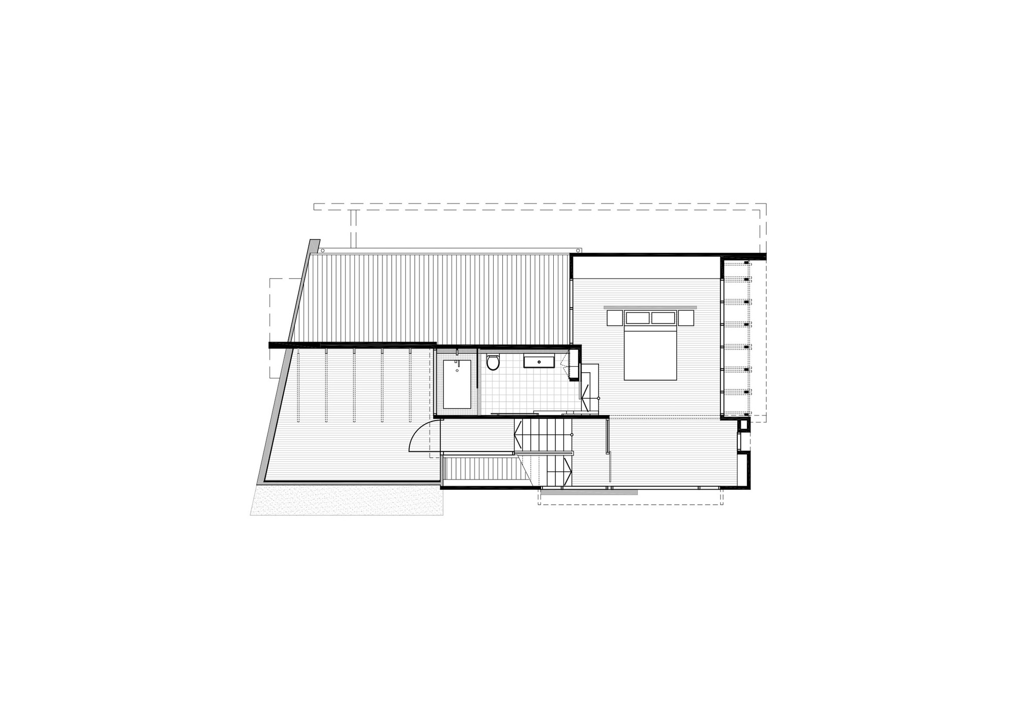 Gallery of Small Street House Base Architecture 13