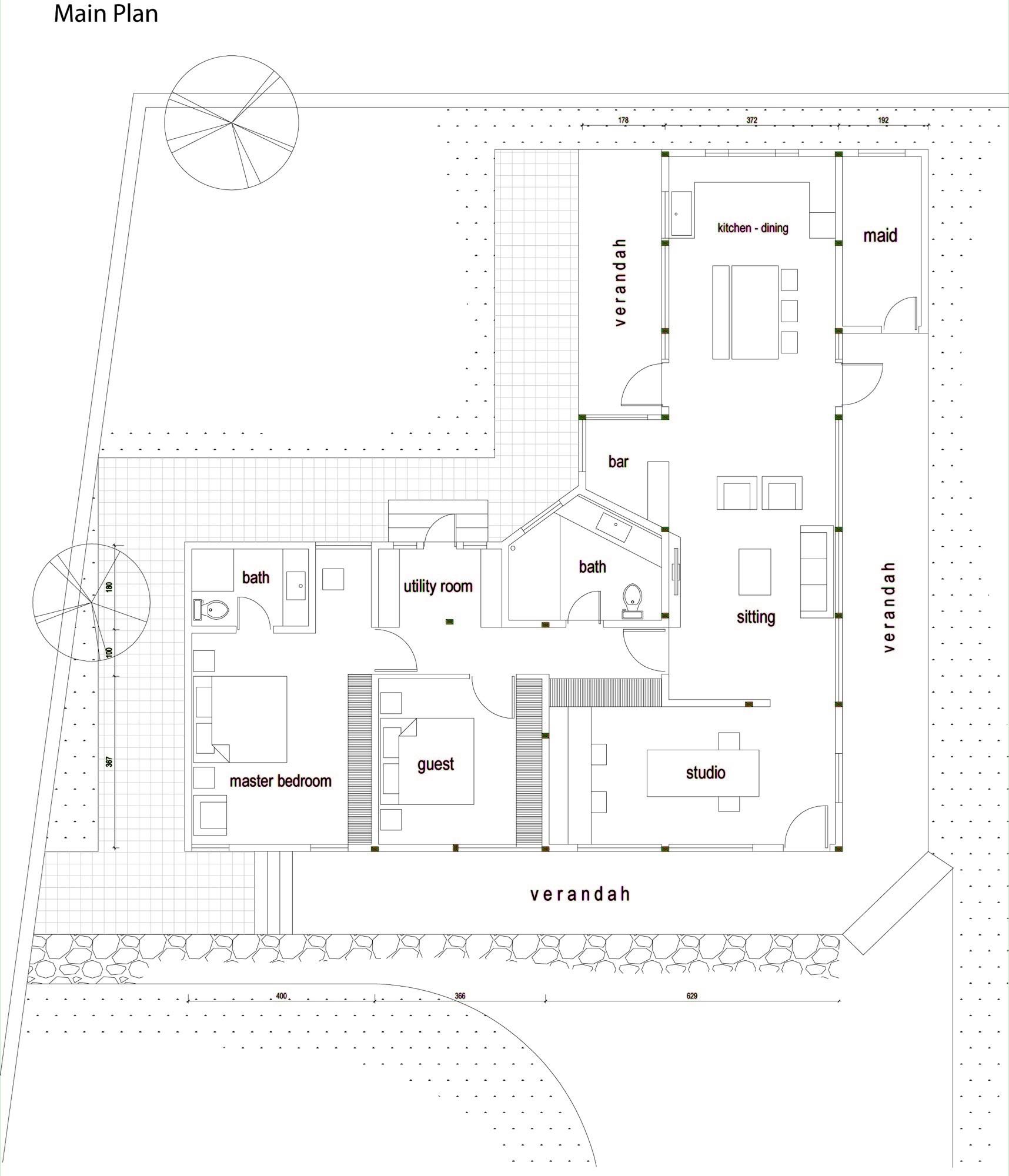 L Shaped Bathroom Floor Plans: Gallery Of Nel Sedone / EarthStudio