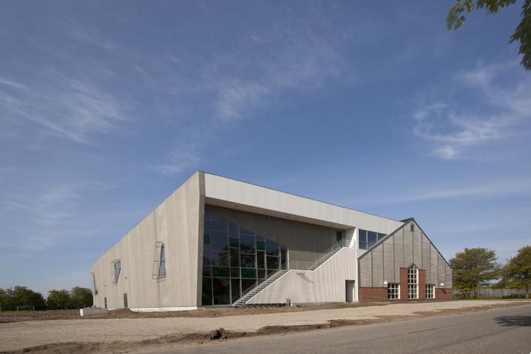 Aarhus Gymnastics and Motor Skills Hall / C.F. Møller, © Poul Nyholm