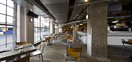 Pizza East Michaelis Boyd Archdaily