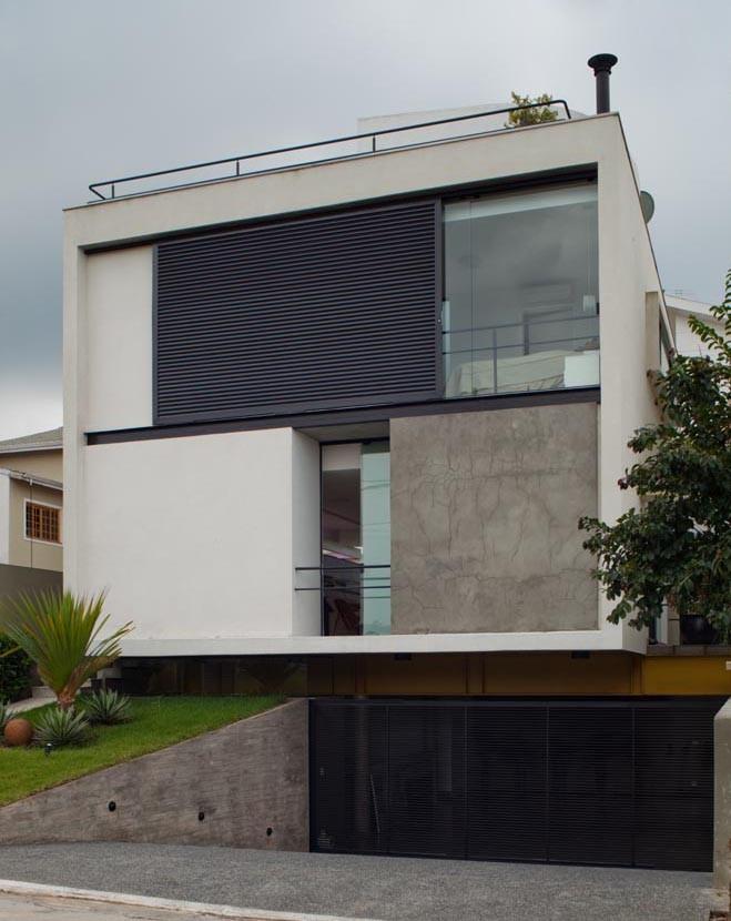 Mirante do Horto House / Flavio Castro, © Nelson Kon