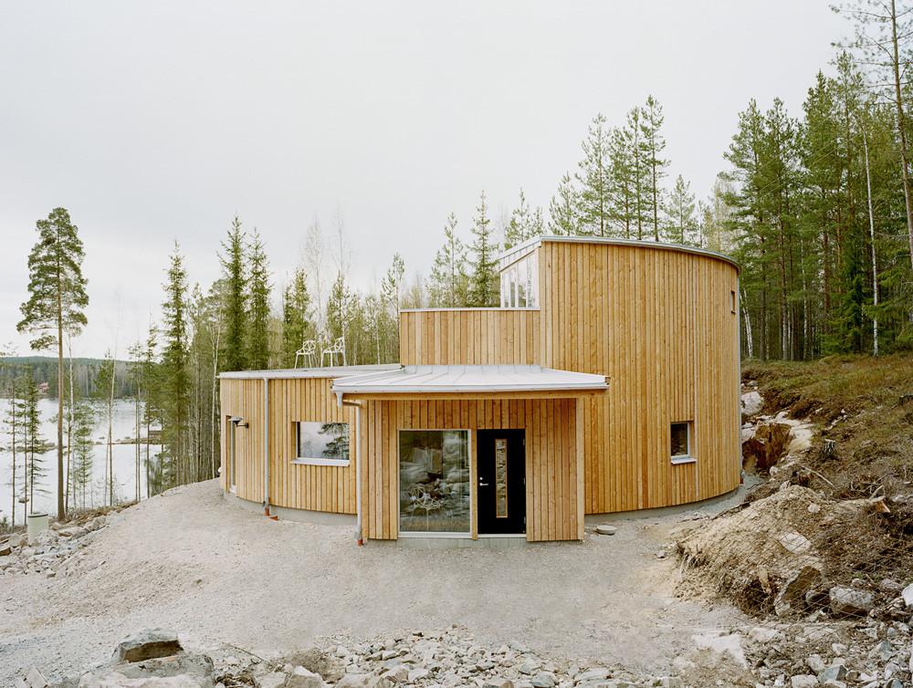 Villa Nyberg Kjellgren Kaminsky Architecture ArchDaily