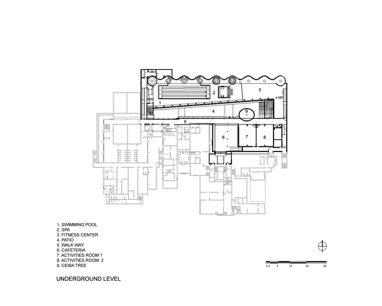 gallery of p w c c spa fitness center plan arquitectos