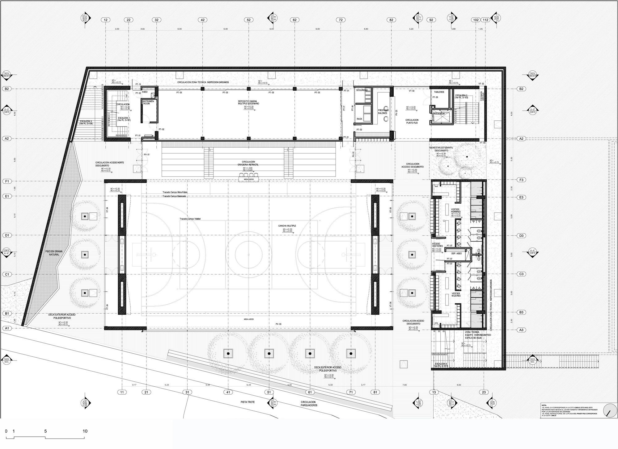 Gallery of universidad de los andes sport facilities mgp arquitectura y urbanismo 22 for Sports complex planning design