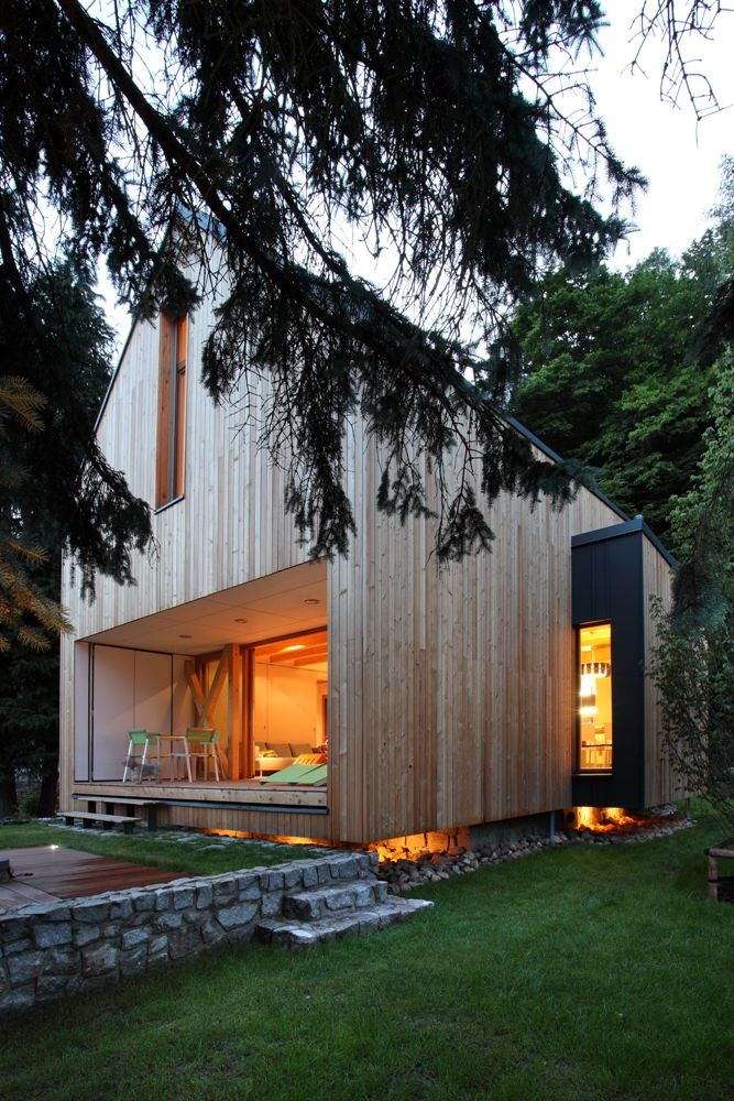 Stribrna Skalice House Prodesi Domesi Archdaily
