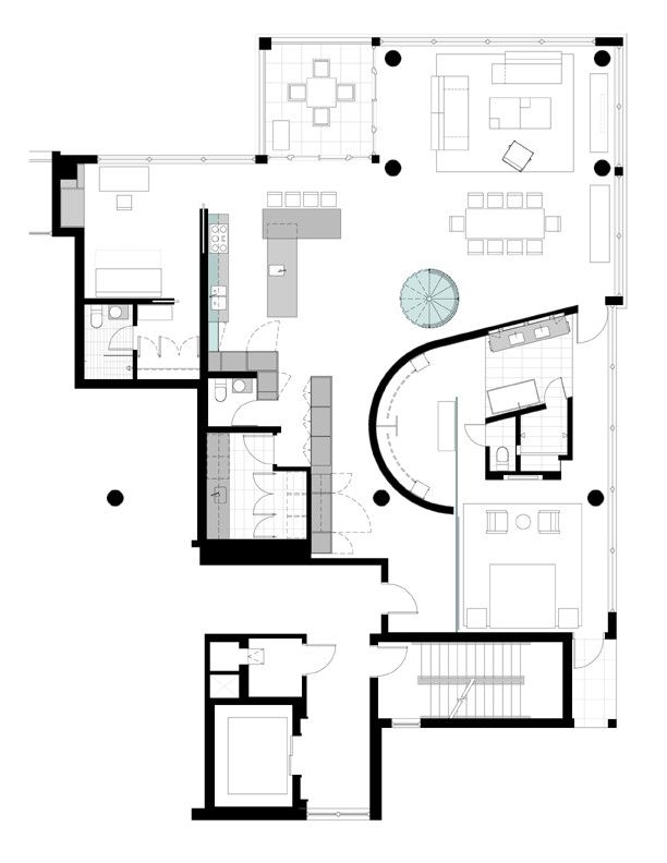 Gallery Of Uptown Penthouse ALTUS Architecture Design 20