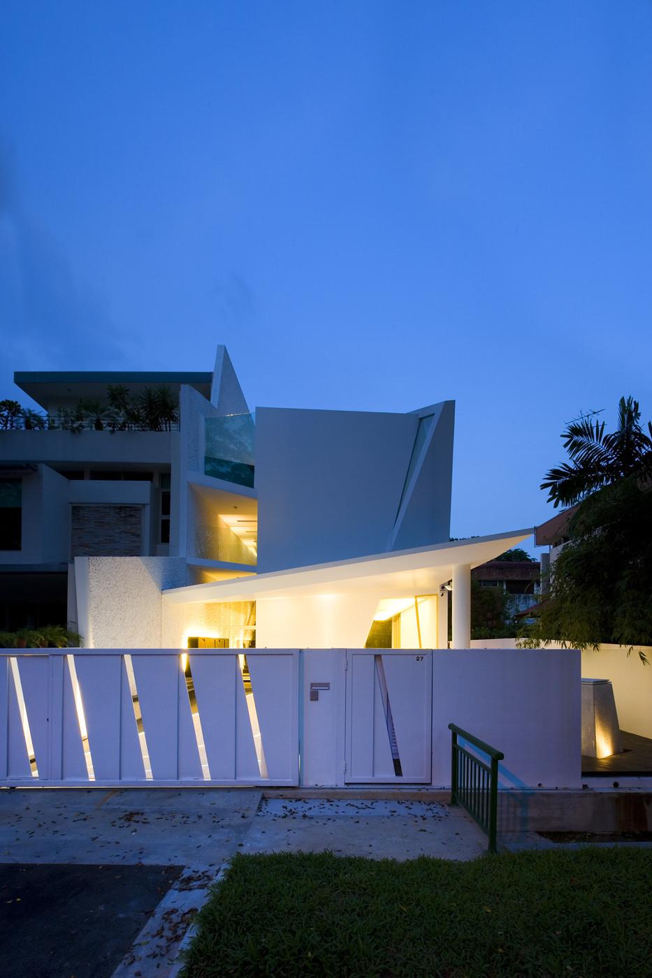 Wall House Formwerkz Architects Archdaily