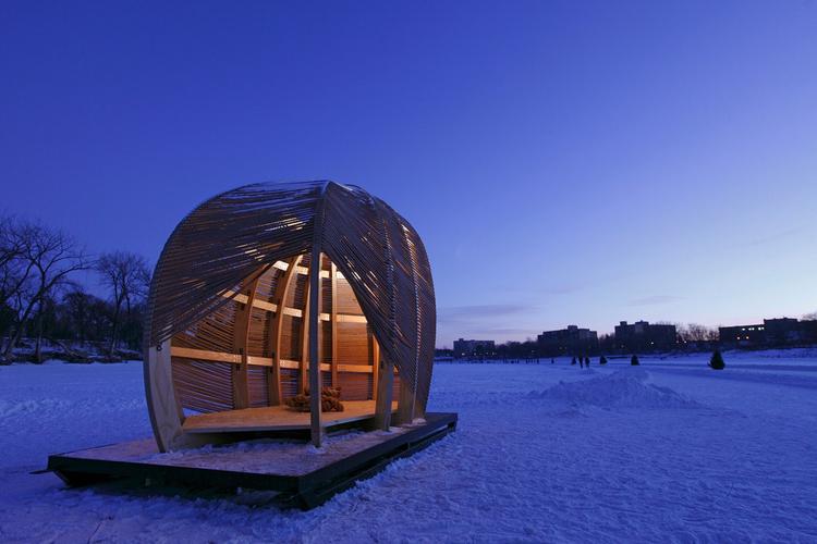 Rope Pavilion / Kevin Erickson, Courtesy of Kevin Erickson
