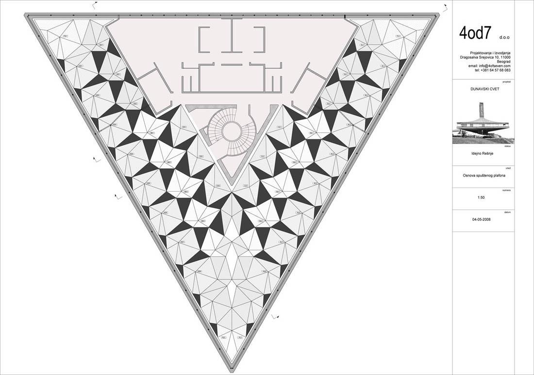 Triangular House Floor Plans Gallery Of Wellness Sky 4of7 8