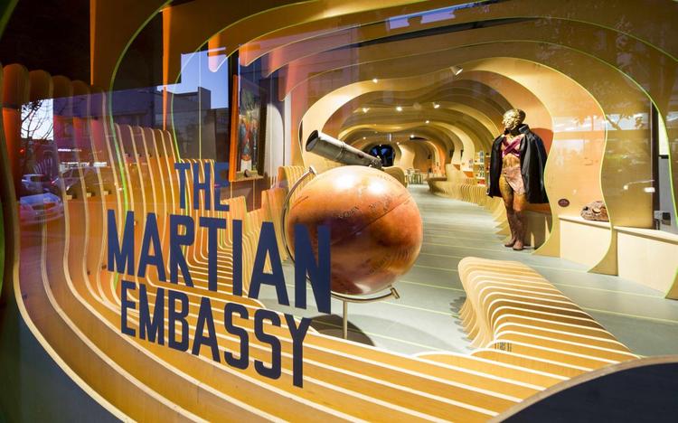 The Martians Have Landed / LAVA, © Brett Boardman