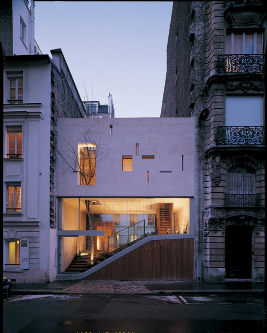 Galvani House / Christian Pottgiesser - architecturespossibles