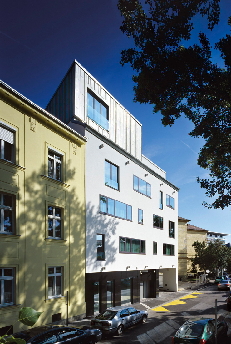 Apartment house / Pokorny architekti