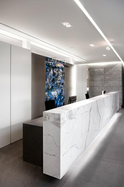Zulte stone company buro interior archdaily - Interior design lighting companies ...