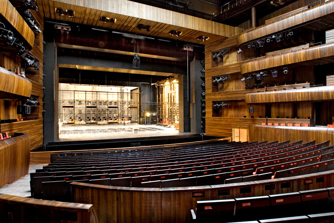 Oslo Opera House Snhetta Archdaily Black Box Stage Diagram Theater Would Need To Be Larger
