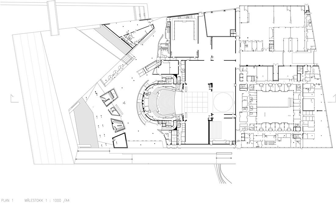 gallery of oslo opera house    sn u00f8hetta