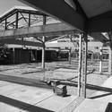 Building renovation and auditorium addition, School of Fine Arts, Universidad de Chile / Emilio Marin + Albert Tidy