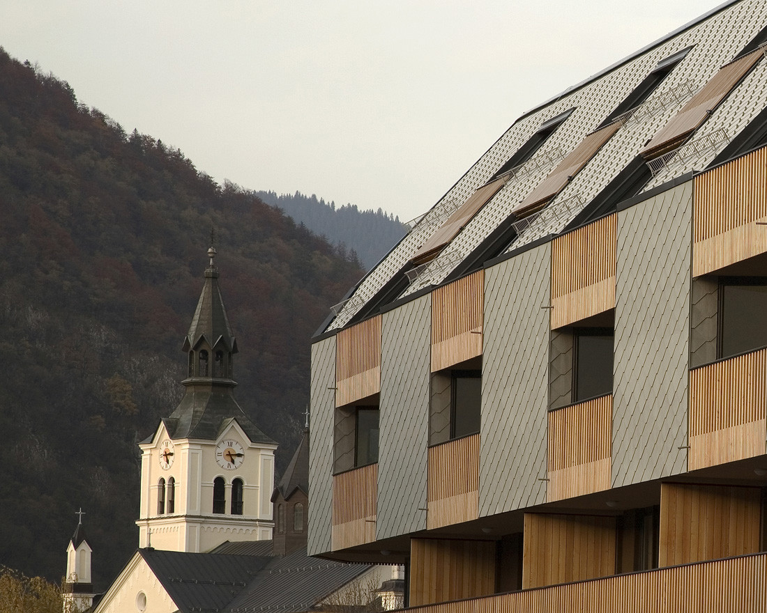 Shopping Roof Apartments Ofis Arhitekti Archdaily