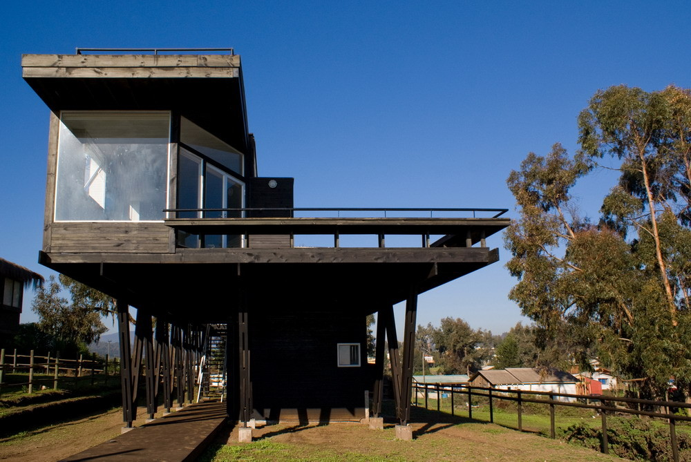 Gallery of tacna hill beach house drn architects 6 - Casa de estructura metalica ...