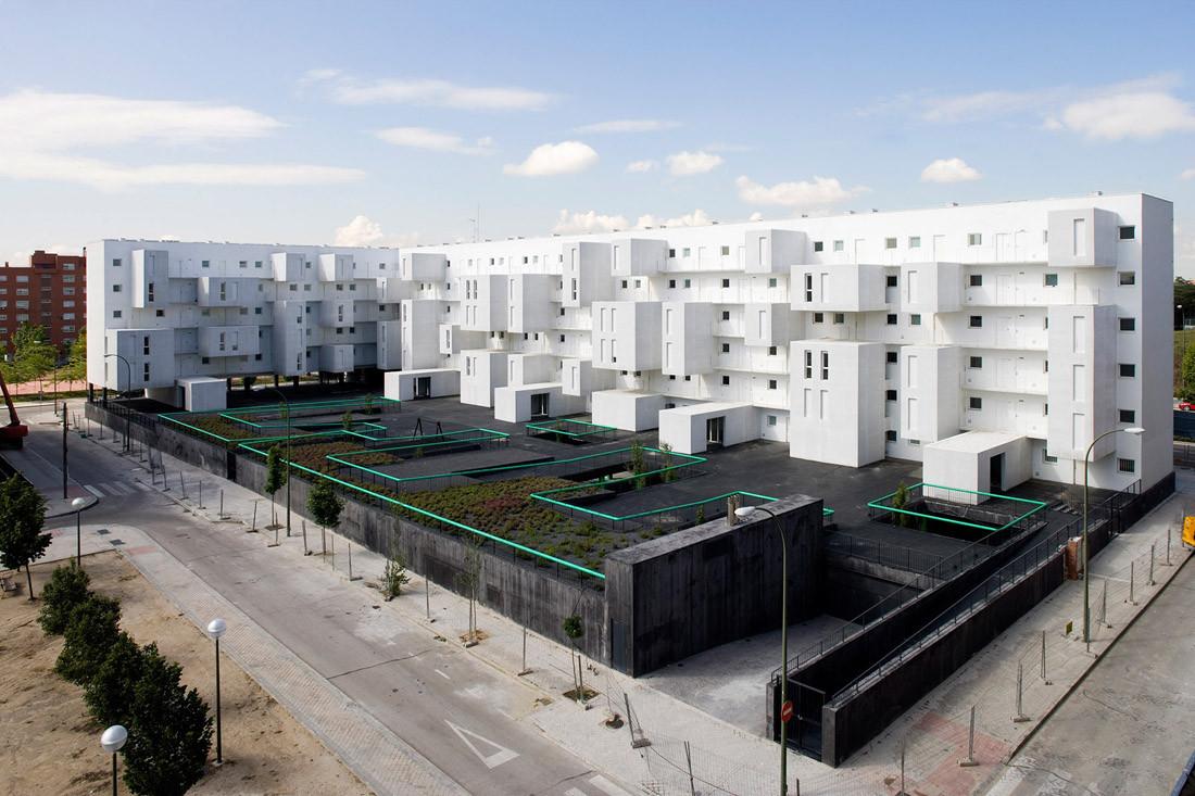 Architettura A Madrid carabanchel housing / dosmasuno arquitectos   archdaily