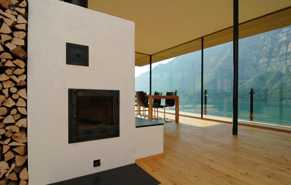 best nice house interior. Walensee House Gallery of  km Architektur 3