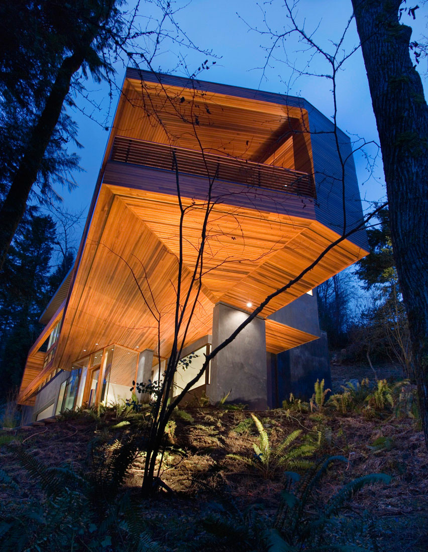M1 Residence / Skylab Architecture (Twilight movie house) | ArchDaily