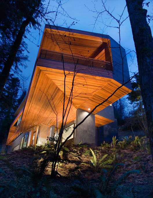 Skylab Architecture Twilight Movie House Archdaily
