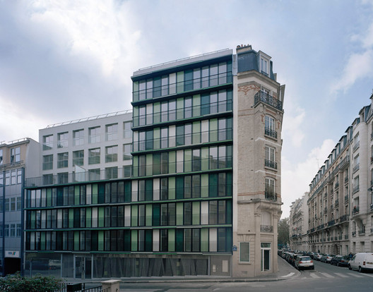 Collage paris ecdm archdaily for Architecture contemporaine paris