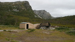 Lillefjord Rest area & footbridge / Pushak
