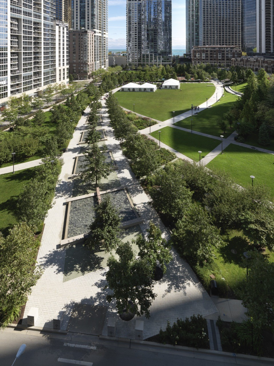 Gallery of the park at lakeshore east the office of for Park landscape design