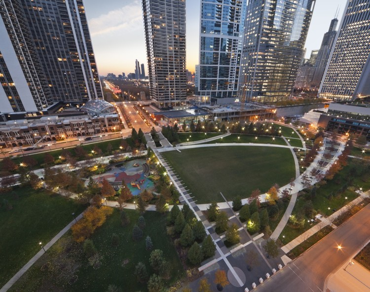 The Park at Lakeshore East / The Office of James Burnett