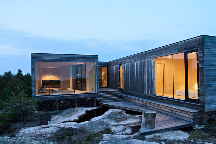 Summerhouse Inside Out Hvaler / Reiulf Ramstad Arkitekter