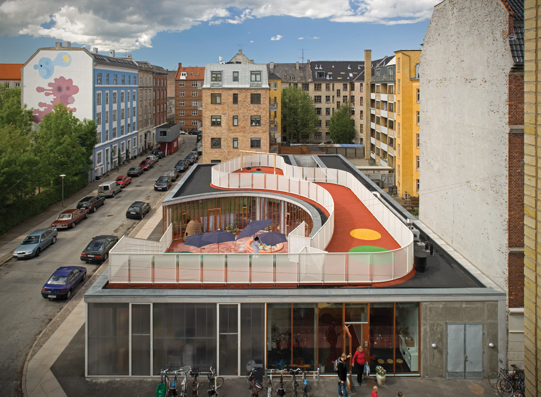 skanderborggade day care centre dorte mandrup archdaily