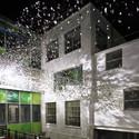 Art installation at Clark Shoes International Headquarters / ROSO