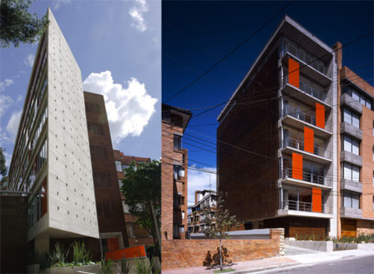 Two residential buildings in Bogotá, Colombia / Giancarlo Mazzanti