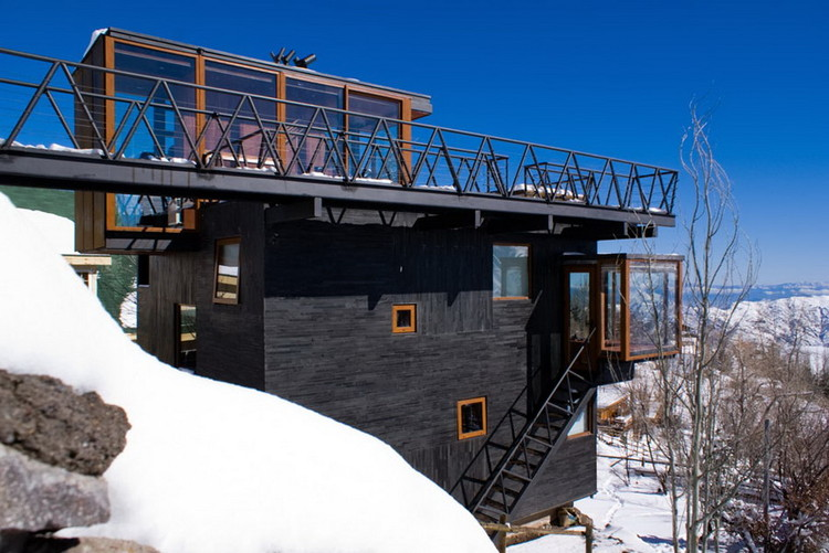 Los Canteros Mountain Refuge / dRN Architects, © Felipe Camus